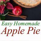 Easy Homemade Apple Pie {from scratch recipe} - Little Sweet Baker