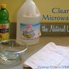 Clean A Microwave
