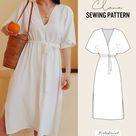 DIY Clara Dress Sewing Pattern