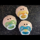 Pacifier Cupcakes