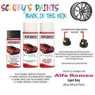 Alfa Romeo Spider Lipari Grey Alloy Wheel Aerosol Spray Paint 409/C