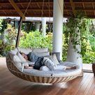 Outdoor Porch Bed
