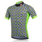 Green Athena Cycling Jersey Men   XXL