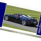 Bugatti Veyron Grand Sport, 2012, Black. 1000 Piece Puzzle. Bugatti Veyron Grand Sport 2012 Black.