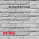 Concrete brick molds, Wall decor, Rubber molds for bricks, Rubber mold, DIY mold, 3D silicone form, Silicone mold gypsum concrete, R009