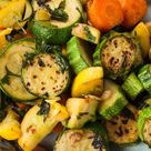 Our Herb Roasted Zucchini and Carrots is the Perfect, Low-Calorie Side