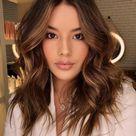 50 Dark Brown Hair with Highlights Ideas for 2021   Hair Adviser