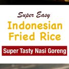 Spicy Indonesian Fried Rice Shrimp Nasi Goreng