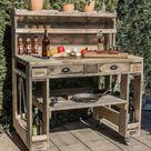 ᐅ Premium Grilltisch aus Paletten - Komplett-Set | Palettenmöbel Shop