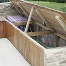 Practical storage solutions in our gardens in Tunbridge Wells and Folkestone