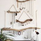 Driftwood Jewelry Organizer - Made to Order Jewelry Hangers - Pick the Driftwood - Boho Decor Small Space Storage Jewelry Display