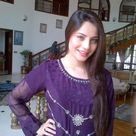 Pakistani Actress Neelam Muneer Blue Salwar Kameez Dress