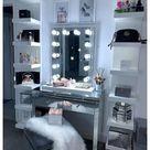 diy vanity mirror with lights tutorials