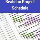 How to Create a Realistic Project Schedule | PM Basics