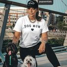 Classic Dog Mom - T-Shirt - White / L / Unisex