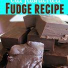 Recipe For Fudge