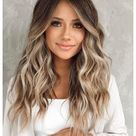 hair color ideas for brunettes for summer balayage highlights
