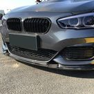 BMW 1 Series F20/F21 LCI Replacement Carbon Fibre Front Fog Surround Cover