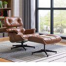 Hermes Chair & Ottoman