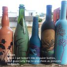 Paint Wine Bottles