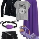 Purple Maxi