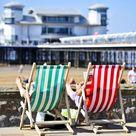 Framed Print. Summer Weather - Weston-super-Mare