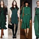 Hunter Green Dresses
