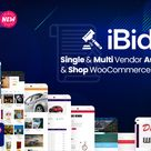 🥇[PRO VERSION] iBid Multi Vendor Auctions WooCommerce Theme v.3.1 Download