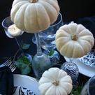 White Pumpkin Centerpieces