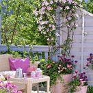 Balkon im Shabby Chic Stil dekorieren   Ideen für den romantischen Look