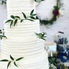 Rustic Romantic Bohemian Wedding Cake @icingandaprons