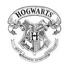Harry Potter Hogwarts Crest Women's T-Shirt - White