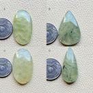 Epidote Prehnite Cabochon Great Quality Gemstone AAA Natural Prehnite Stone Yellow Prehnite calcite chunk Cabochon Gorgeous Prehnite Tumbled