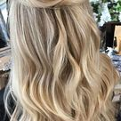 Gorgeous Half up hairstyles - 45 Stylish Ideas : easy half up