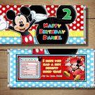EDITABLE Mickey Mouse Invitation Template, Mickey Mouse Instant Download, Mickey Mouse Invitation Birthday Invitations, Clubhouse Invitation