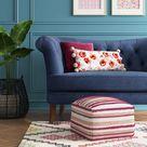 Lory Pouf Textured - Opalhouse™