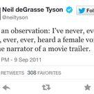 Neil deGrasse Tyson on Twitter