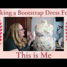 Making a DIY Plus Size Bootstrap Dress Form