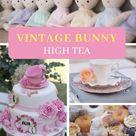 Vintage Bunny High Tea | Kara's Party Ideas