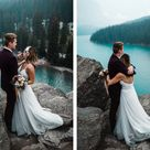 Banff Helicopter Elopement Photographers | Film & Forest Photography