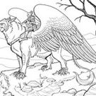 Anti Stress Coloring Pages Fantastic animals