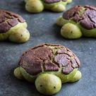 MATCHA MILK BREAD TURTLES RECIPE | WITH CHOCOLATE DUTCH CRUNCH