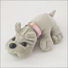 Kennel Kuddlees vintage stuffed animal dog