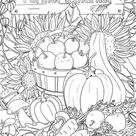 Farmer's Market - Printable Adult Coloring Page from Favoreads (Coloring book pages for adults and kids, Coloring sheets, Colouring designs)