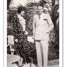 30cm Photo. Bystanders on the Riviera   E. G. Oakley Beuttler &