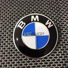 Emblema logo BMW 82mm capó o maletero. BMW Original