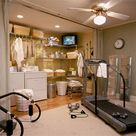 Basement Laundry Rooms