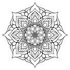 Vector indian Mandala stock vector. Illustration of magic - 81215553
