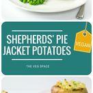 Vegan Jacket Potato Shepherds Pies | The Veg Space UK comfort food