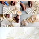 DIY: Tutorial Abanicos papel / Pinwheels